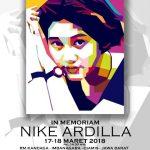 IN MEMORIAM NIKE ARDILA 17-18 MARET 2018